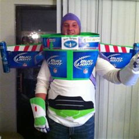 Bud Light Costume by On Duct Boots Bud Light And