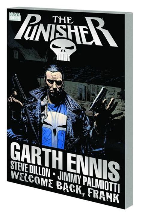 punisher welcome back frank 0785157166 dynamic forces 174 punisher welcome back frank tpb new printing