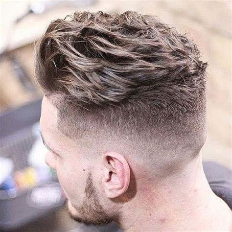hairstyles that are pushed up in back top 101 best hairstyles for men and boys 2018 mid fade