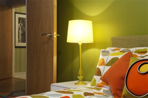 green and orange bedroom retro green and orange bedroom modern bedroom london