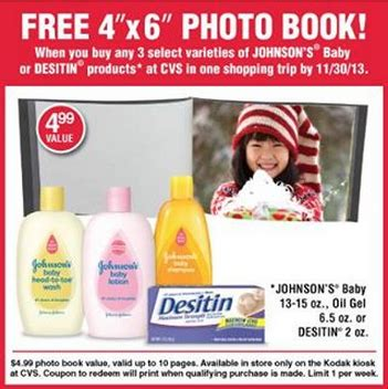 cvs picture book free photo book offer from cvs with baby product purchase