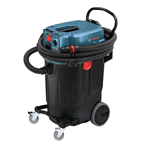 vacuum dust bosch 14 gallon corded wet dry dust extractor vacuum with automatic filter clean and hepa filter