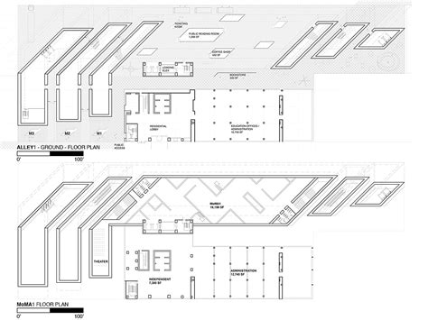 Moma Floor Plan parallel momas drapac archinect