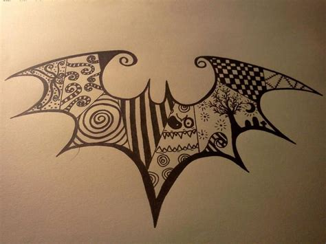 batman tattoo deviantart tim burton inspired tattoos deviantart more like tribal