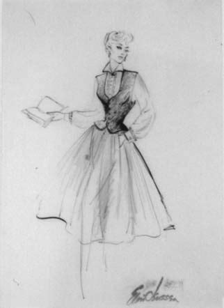 Elois Jenssen on Pinterest   Costume Design Sketch
