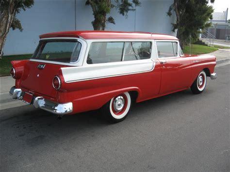 1957 Ford Wagon 1957 Ford Ranch Wagon 2 Door Station Wagon 70744