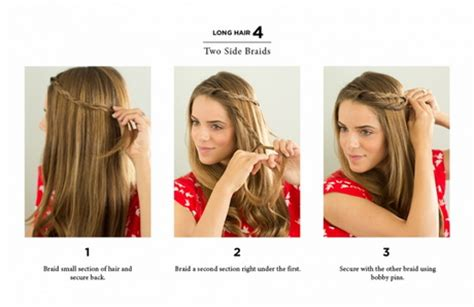 fast and easy hairstyles for shoulder length hair 10 hairstyles for medium length hair