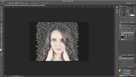 tutorial photoshop ritratto tutorial photoshop il ritratto tipografico