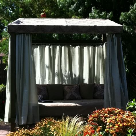 Outdoor Cabana Bed outdoor bed cabana house to home