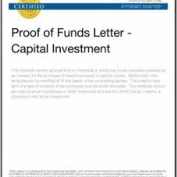 Proof Of Funds Template by Best Photos Of Bank Proof Of Funds Letter Proof Of Funds