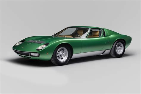 Miura Lamborghini lamborghini completely restored the miura sv for the