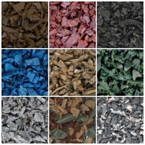 colored mulch rubber mulch products durable safe rubber mulch