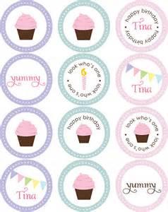 cupcake stickers circle tags available through blush pri flickr