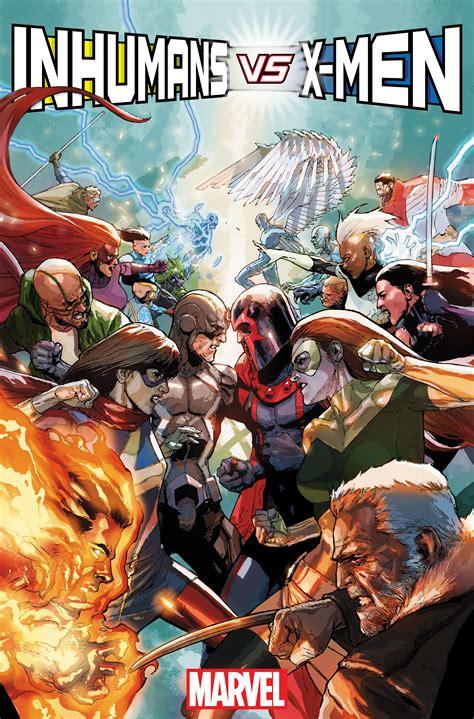 marvel announces inhumans vs and civil war ii the