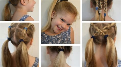 easy hairstyles for school videos 6 easy hairstyles for school that will make mornings simpler