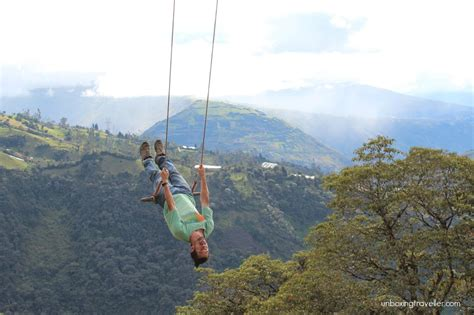 la swing casa del arbol a magic swing in ecuador