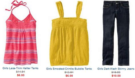 Where Can I Use My Old Navy Gift Card - old navy back to school sale girls jeans tanks halters up to 60 off