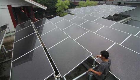Kulkas Vaksin Tenaga Surya energi terbarukan pembangkit listrik tenaga surya rooftop