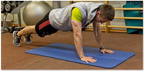 straight arm plank step  step guide