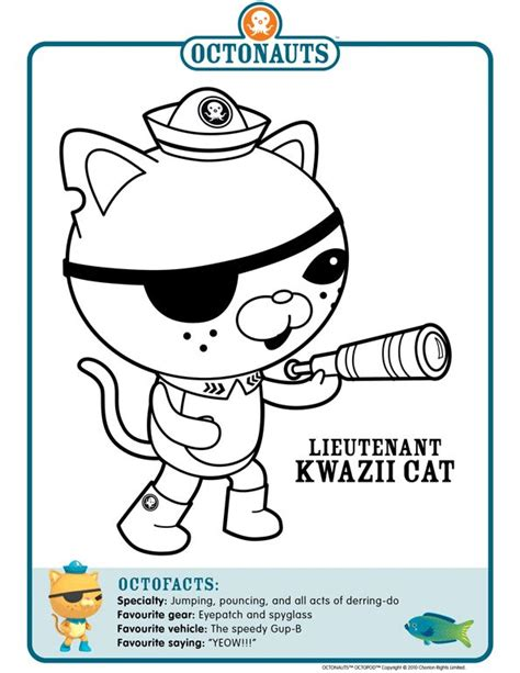 octonauts coloring pages pdf 17 best images about octonauts on pinterest birthdays