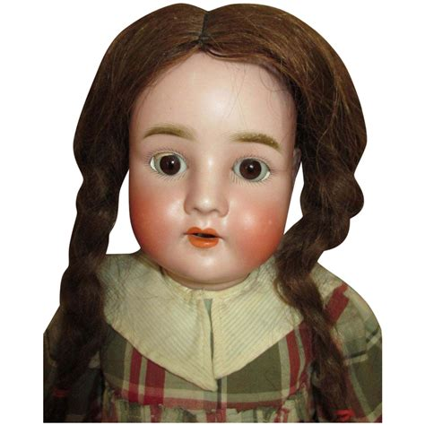 bisque doll marked special antique quot special quot marked 25 quot bisque doll human hair