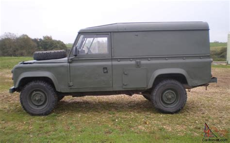 military land rover 110 land rover military defender 110 12v 24v ffr hardtop 2 5