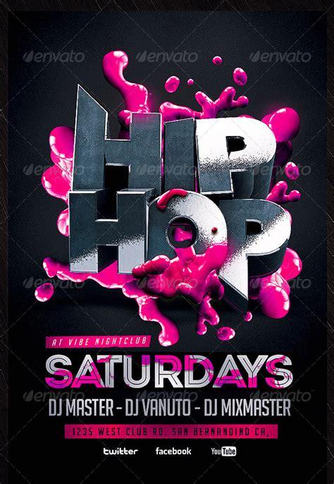 Hip Hop Club Flyers