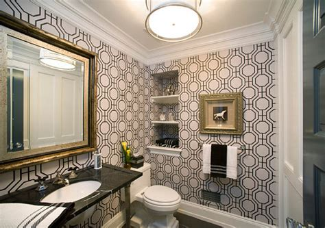 hollywood bathroom hollywood regency bathroom wallpaper decoist