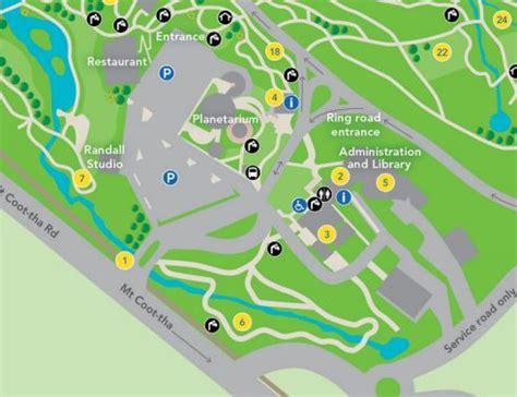 Mt Cootha Botanical Gardens Directions Garden Ftempo Brisbane Botanic Gardens Map