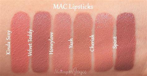 Mac Velvet Teddy Lipstick makeupbyjoyce swatches review mac matte satin