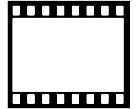movie reel templates clipart clipart suggest