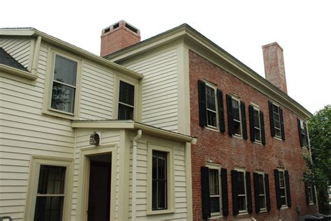 historic house renovation historic whittemore house renovation stirling brown architects inc
