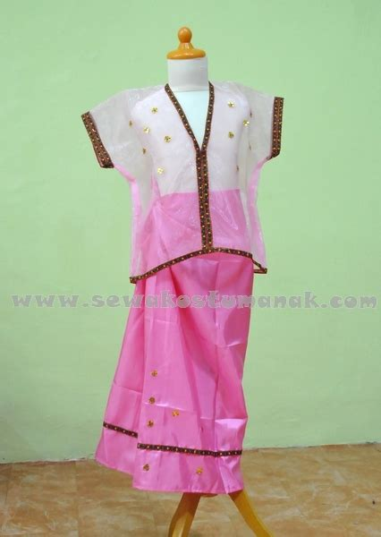 Baju Adat Makassar Baju Bodo baju adat suku makassar baju bodo
