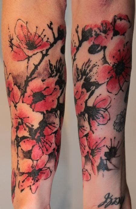 gene coffey tattoo poppy tattoos the best flower tattoos