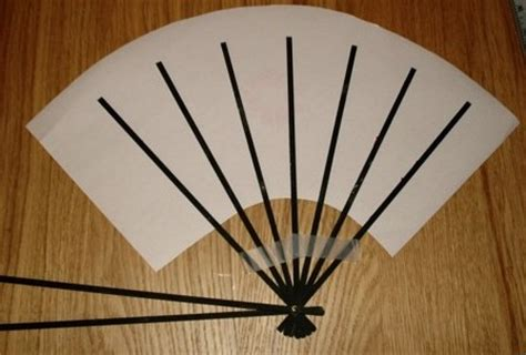How To Make A Japanese Fan Out Of Paper - sensu
