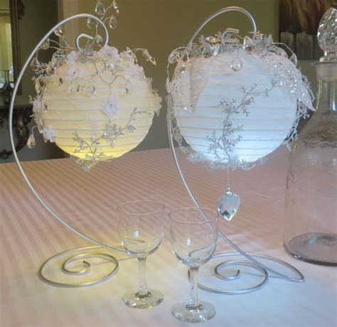 Paper Table Decorations To Make - table decoration made with white paper lanterns