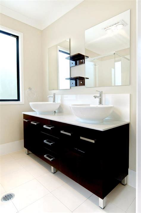 Bathroom Vanities Ebay Australia New Bathroom Vanity 1500 Cabinet Unit Top 2x Basin Australia Wide Delivery Ebay