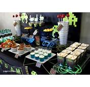 Video Game Birthday Party  Paper And Cake