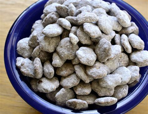 crispix puppy chow puppy chow snack mix recipe genius kitchen