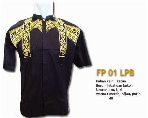 Baju Supreme Lengan Pendek Bahan Nyaman 5 edisi baju koko katun lengan pendek rumahtaziek mukena
