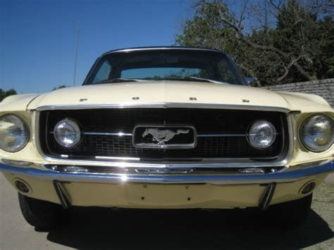 mustang gt lights 1967 ford mustang 351 coupe w gt fog lights for sale