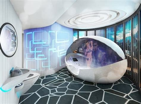 Bathroom Tub Shower Ideas by 11 Awesome Futuristic Rooms You Will Love
