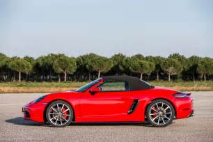 Porsche M 2017 Porsche 718 Boxster Fully Revealed With Turbo Flat