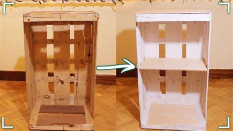 cajas guardarropa ikea 161 haz un mueble con una caja de fruta diy youtube