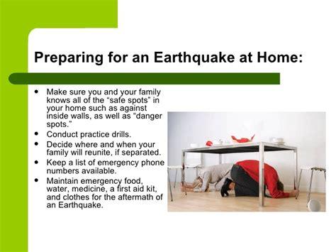 earthquake safety earthquake safety