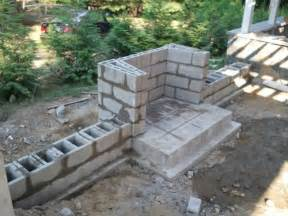 concrete block fireplace building an outdoor fireplace q x tech ui power
