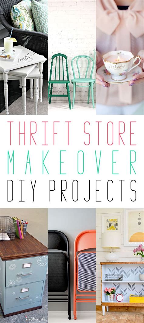 thrift store makeover diy projects the cottage market