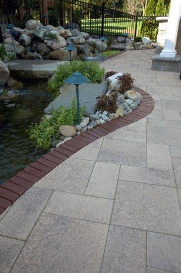 Unilock Copthorne Pavers Paver Walkway With Unilock Umbriano And Copthorne Deck