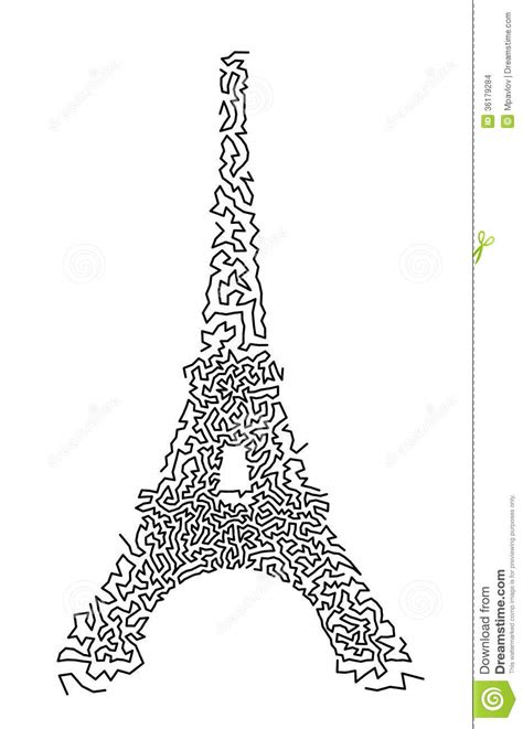 doodle god how to make eiffel tower eiffel tower stock vector illustration of retro