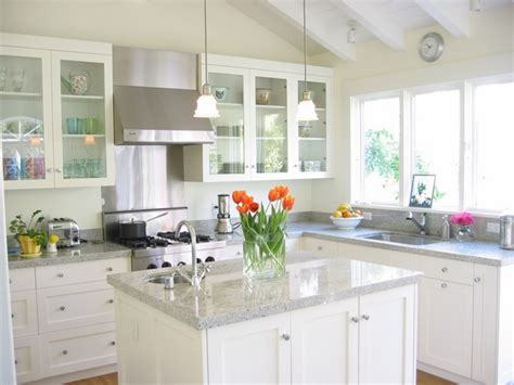 what are the best granite countertop colors for white cabinets in modern kitchens interior